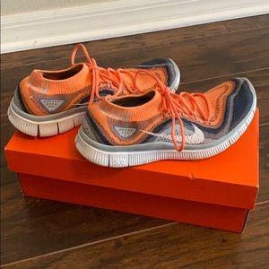Nike Free Flyknit Size 7